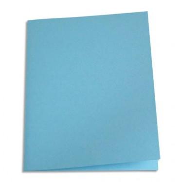 5 ETOILES Paquet de 250 sous-chemises papier recyclé 60g coloris bleu