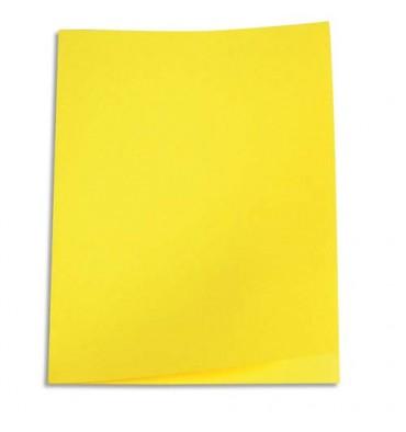 5 ETOILES Paquet de 250 sous-chemises papier recyclé 60g coloris jaune