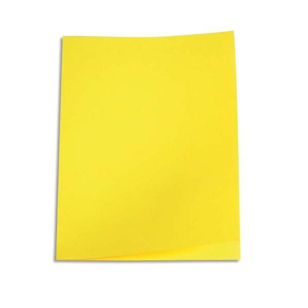 5 ETOILES Paquet de 250 sous-chemises papier recyclé 60g, coloris jaune (photo)