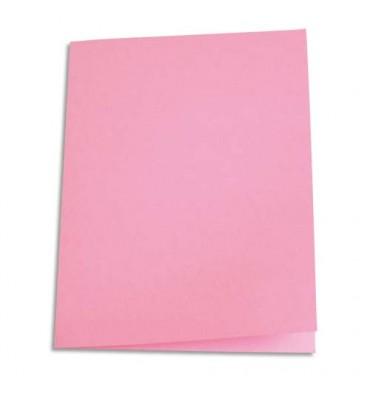 5 ETOILES Paquet de 250 sous-chemises papier recyclé 60g coloris rose