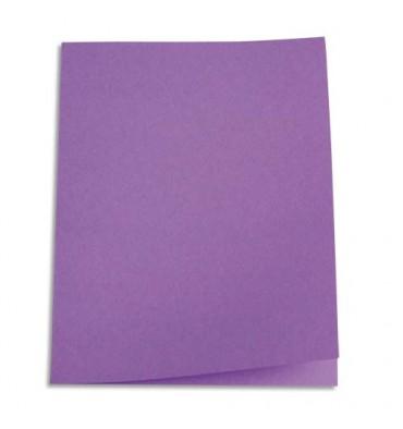 5 ETOILES Paquet de 250 sous-chemises papier recyclé 60g coloris lilas