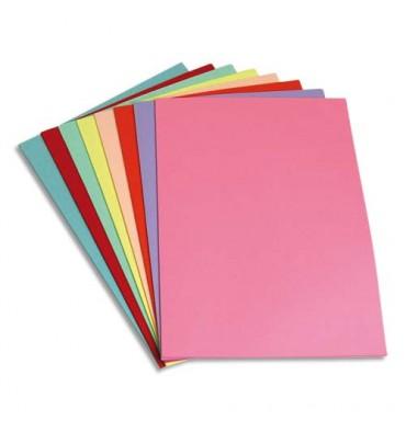 5 ETOILES Paquet de 250 sous-chemises papier recyclé 60g coloris assortis
