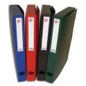 5 ETOILES Boîte de classement dos de 4 cm, en polypropylène 7/10e, coloris assortis