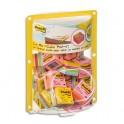 POST-IT Présentoir bulle de 24 mini cubes 400 feuilles 51 x 51 mm - Coloris Plaisir : rose néon, ultra