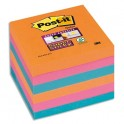 POST-IT Lot 6 blocs repositionnables Sticky Pétillantes 7,6 x 7,6 cm, coloris assortis Bangkok