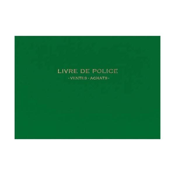 ELVE Registre de police, métaux précieux , ventes été achats (or) 21 x 30 cm, 200 pages