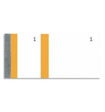 EXACOMPTA Bloc vendeur 100 feuillets 60 x 135 mm orange