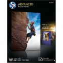 HP Pack de 25 Papier photo Advanced jet d'encre brillant 250g 13 x 18 cm