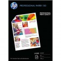 HP Pack de 150 feuilles Papier photo professionnel laser brillant 150g A4
