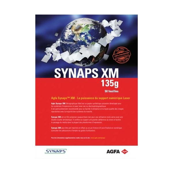 PAPYRUS Paquet de 50 feuilles SYNAPS XM 135g A4