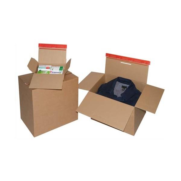 COLOMPAC Carton fond automatique, fermeture autocollante A5 21,3 x 10,9 x 15,3 cm (photo)