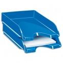 CEP Pro Corbeille à courrier Gloss pour format 24 x 32 cm - Dimensions 25,7 x 6,6 x 34,8 cm bleu océan