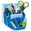 CEP Multipot Gloss 6 compartiments avec 2 espaces coloris bleu océan