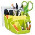 CEP Multipot Gloss 6 compartiments avec 2 espaces coloris vert anis