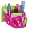 CEP Multipot Gloss 6 compartiments avec 2 espaces coloris rose pepsi