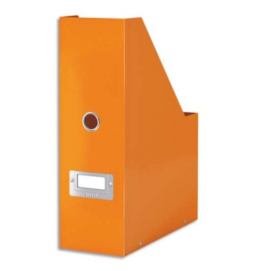 LEITZ Porte-revues Clic & Store, 33 x 2,3 cm, dos 10 cm coloris Orange WOW