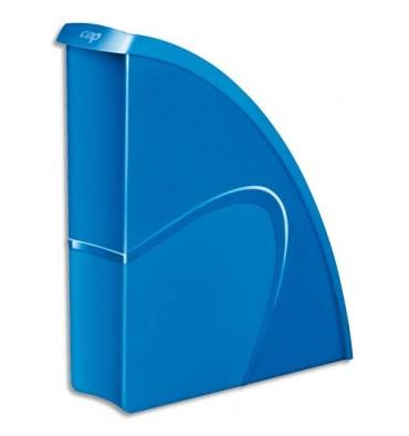 CEP Porte-revues Gloss - Dos 8,2 cm - 31 x 25,9 cm coloris bleu océan