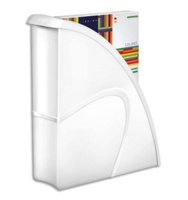 CEP Porte-revues Gloss - Dos 8,2 cm - 31 x 25,9 cm coloris blanc arctique
