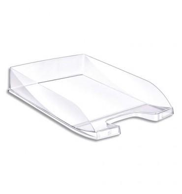 5 ETOILES Corbeille à courrier en polystyrène jusqu'au format 24 x 32 cm - 35 x 6,5 x 25,5 cm cristal