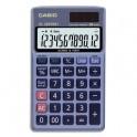 CASIO Calculatrice de poche à 12 chiffres SL320TER, coloris bleu