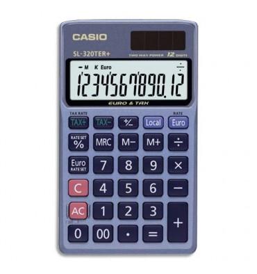 CASIO Calculatrice de poche 10 chiffres SL310TER+