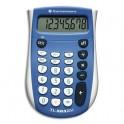 TEXAS INSTRUMENTS Calculatrice 8 chiffres TI 503SV, coloris bleu
