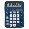 TEXAS INSTRUMENTS Calculatrice de poche 8 chiffres TI 1726, coloris bleu canard