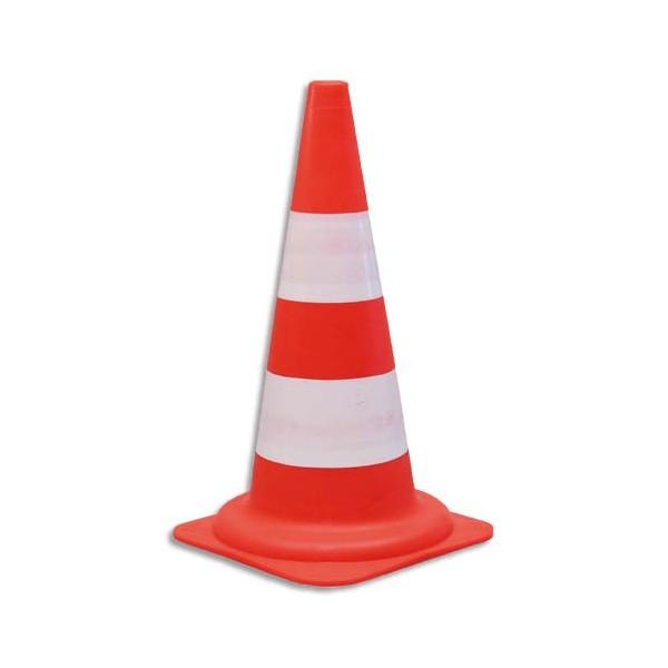 VISO Cône standard pour voies privées - Diamètre 29, hauteur 49 cm coloris orange