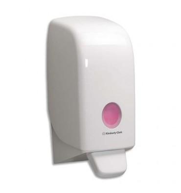 KIMBERLY CLARK Distributeur de savon mousse - 23,5 x 11,4 x 11,6 cm coloris blanc