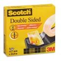 SCOTCH Ruban adhésif double face 665 pour assemblage définitif - 12 mm x 33 mètres, en boîte individuelle