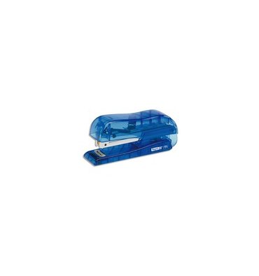 RAPID Mini agrafeuse F5 bleu translucide, agrafes N°10