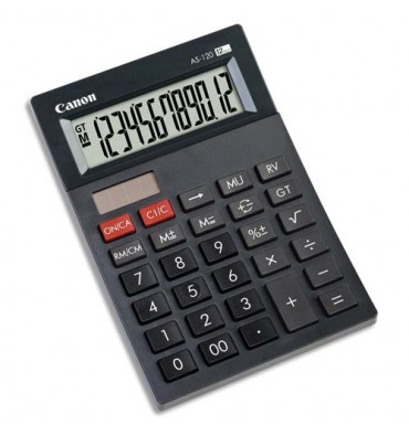 CANON Calculatrice AS-120