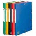 5 ETOILES Boîte de classement à élastique en carte lustrée 7/10e, dos de 4 cm, coloris assortis