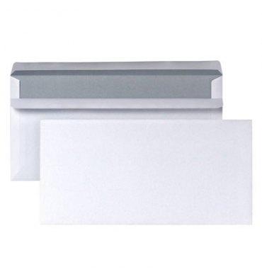 NEUTRE Boîte 500 enveloppes autocollantes 80g format DL 110 x 220 mm