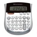 TEXAS INSTRUMENTS Calculatrice de poche 8 chiffres TI1795SV, coloris argent