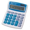 IBICO Calculatrice de bureau à 8 chiffres 208X, coloris gris et bleu