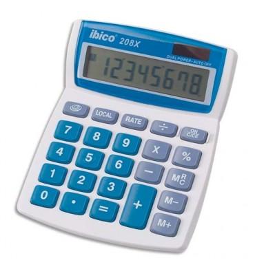 IBICO Calculatrice de bureau 208X - 8 chiffres