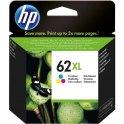 HP Pack jet d'encre 3 couleurs N°62 XL