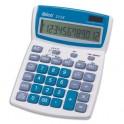 IBICO Calculatrice de bureau à 12 chiffres 212X, coloris gris et bleu