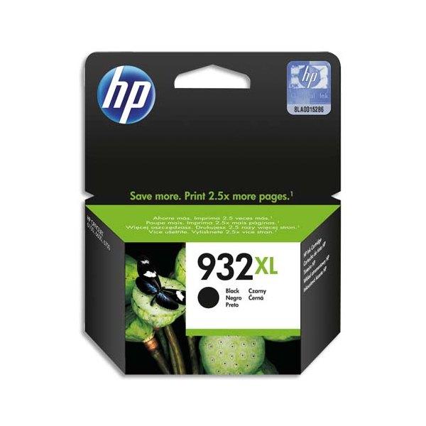 HP Cartouche jet d'encre noire N° 932 XL