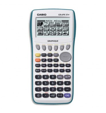 pilote calculatrice casio graph 35+