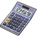 CASIO Calculatrice de poche à 8 chiffres MS88TER, coloris bleu