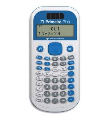 TEXAS Calculatrice Primaire et Collège TI Primaire Plus