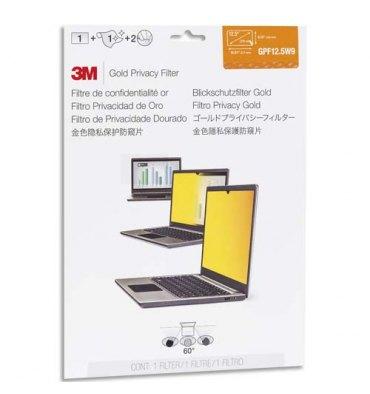 """3M Filtre de confidentialité Or pour ordinateur portable 12,5"""""""