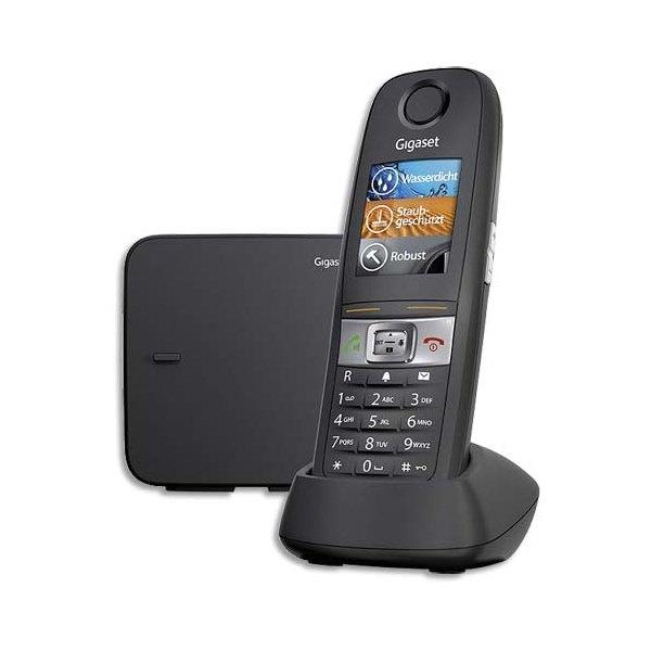 GIGASET Téléphone sans fil E630 1 combiné