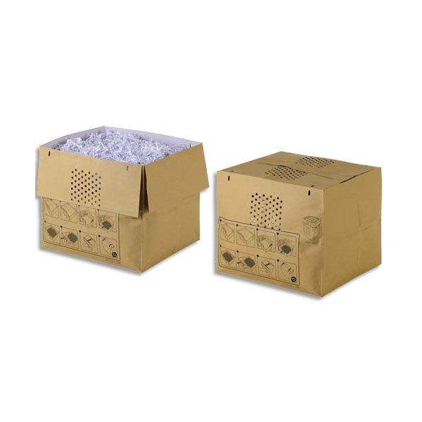 REXEL Pack de 50 sacs papier recyclables pour destructeur 750X/750M 115 litres