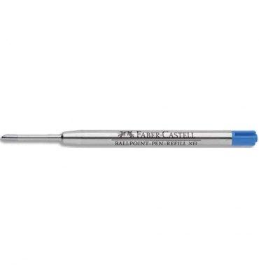 FABER CASTELL Recharge G2 BALLPEN XB, encre bleue indélébile pointe extra large