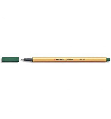 STABILO Stylo feutre Point 88 vert pin, pointe fine 88/53