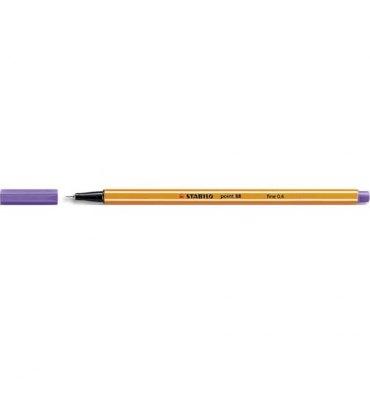 STABILO Stylo feutre Point 88 violet, pointe fine 88/55