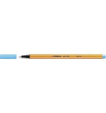 STABILO Stylo feutre Point 88 bleu azur, pointe fine 88/57